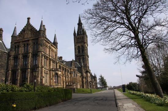 University of Glasgow (photo by Canonfan, May 2010)