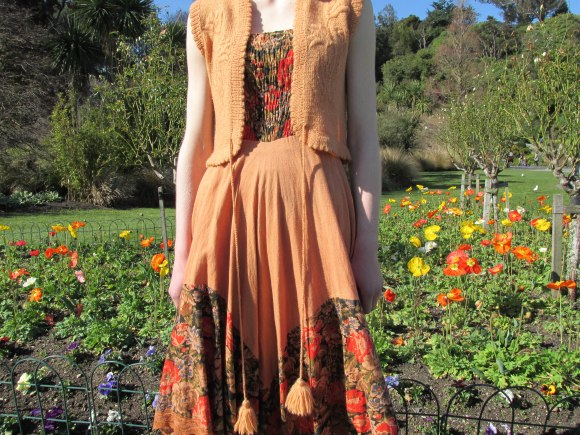 Hippy-chic dress from Most Wanted Vintage