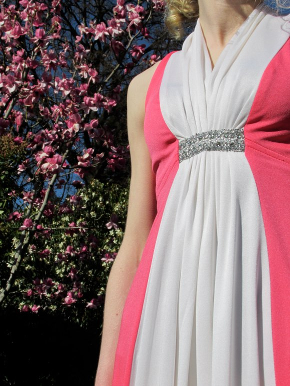 Pink and white gown from Raspberry Beret (no-longer-with-us sister of Purple Rain)
