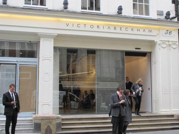'Victoria Beckham' on Dover Street
