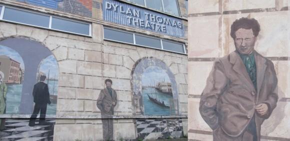 Dylan Thomas Theatre mural