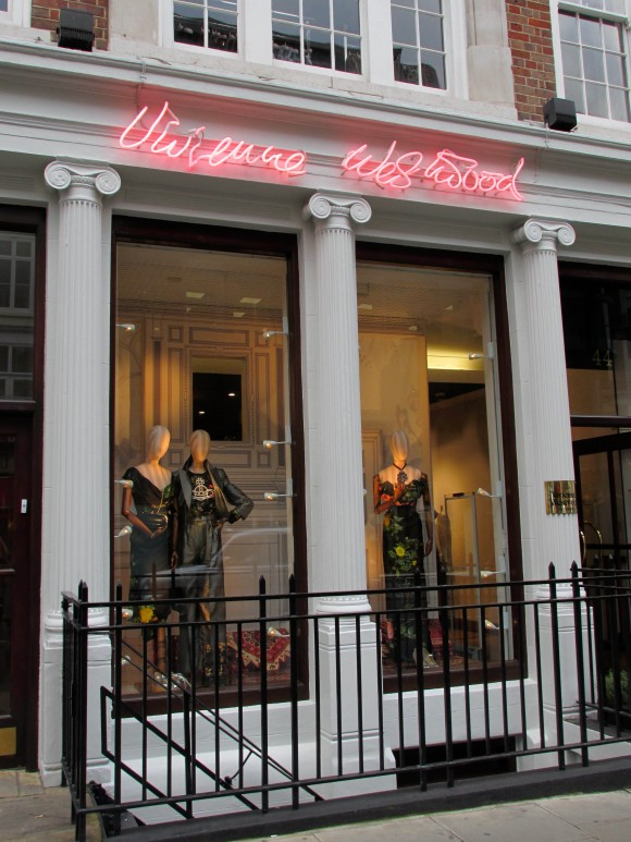 Vivienne Westwood, Conduit Street, Mayfair