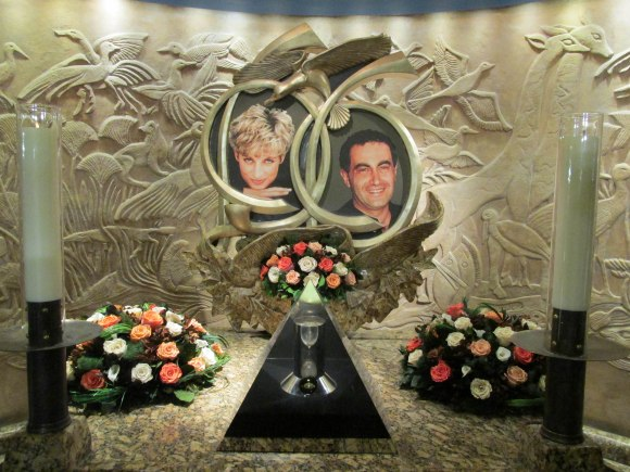 Shrine to Princess Diana, Harrods, Knightsbridge