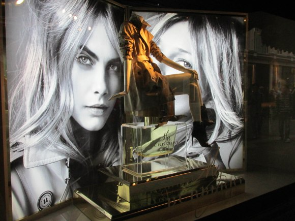 My Burberry, Harrods, Knightsbridge (featuring Cara Delevingne and Kate Moss)