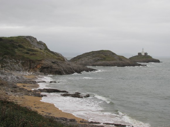 Mumbles Head and lighthouse