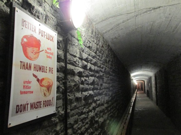 Underground Second World War tunnels, Cardiff Castle