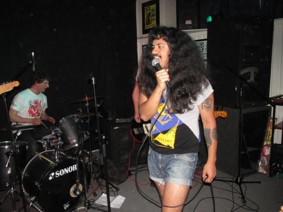 Wellington punk band The Dilfs