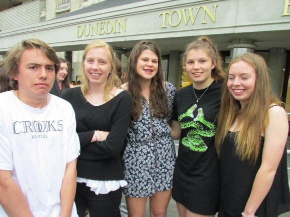 Harry, Tabitha, Bella, Caity and Hetty