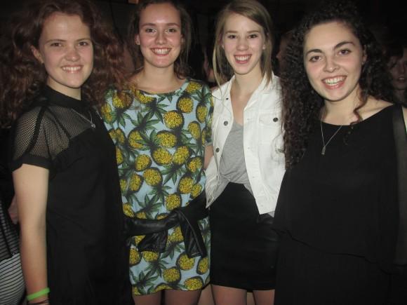 Ella, Georgia, Georgia and Lauren