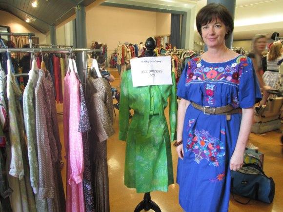 Sharon of 'The Vintage Dress Company'