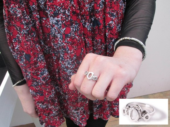 Trinity ring from 'Absence' collection