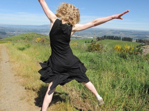 Upcycled dress by Melanie Child