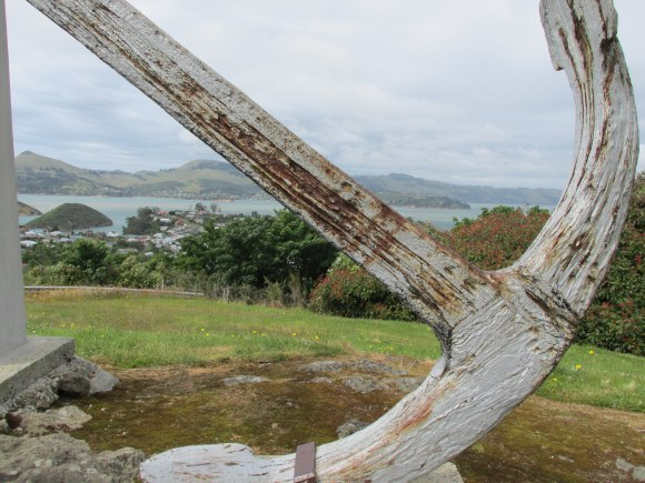 Looking towards Port Chalmers from Blueskin Road