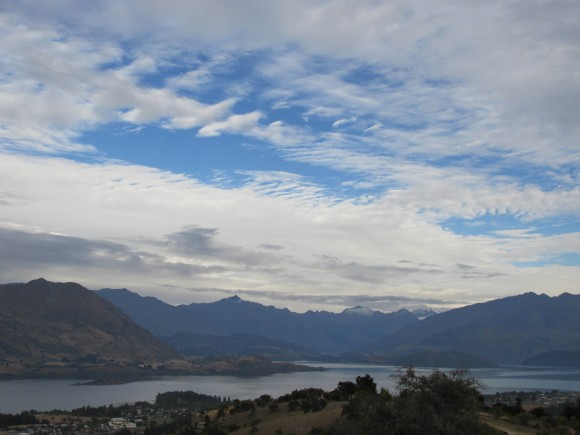 Lake Wanaka from Mt Iron