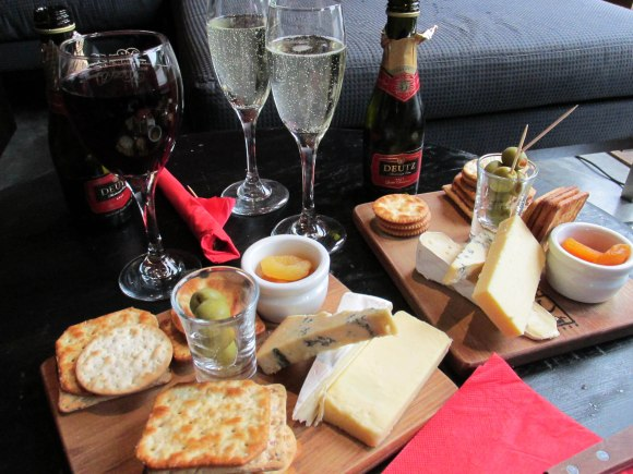 Nothing beats a cheese platter and a glass of Two Paddocks' Picnic!