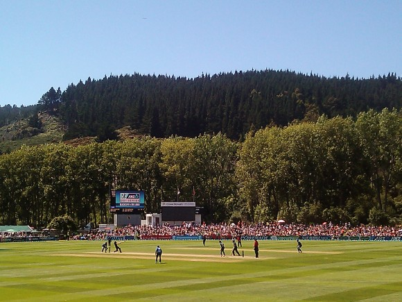 Black Caps vs Sri Lanka, University Oval. Photo by Julian Crawford.