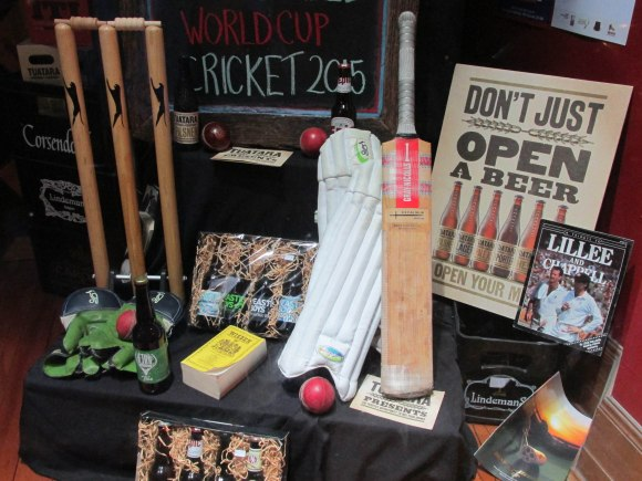 Cricket display, Taste Merchants (Princes Street)