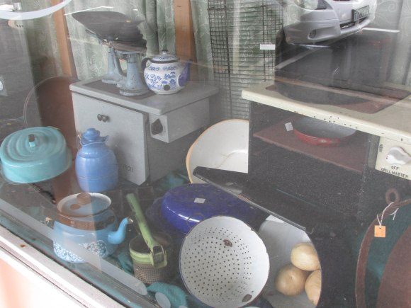 Kitchenalia in Bill's Antiques, South Road, Caversham
