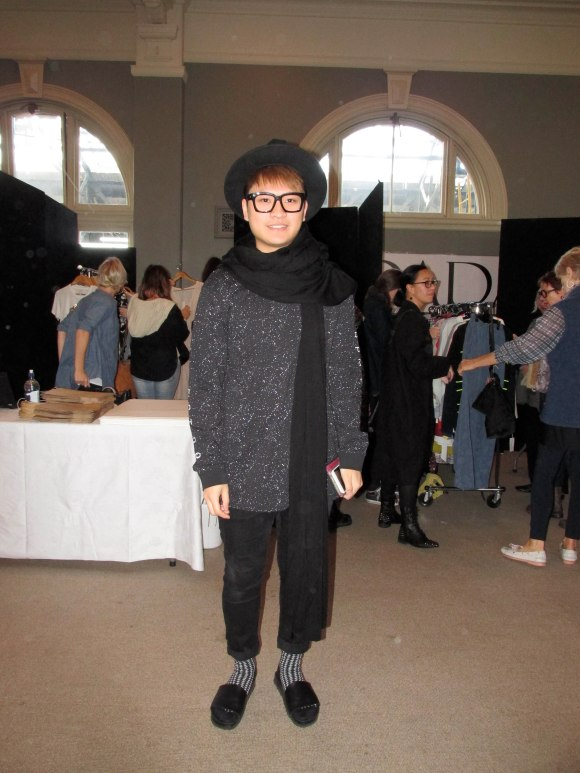 iD Fashion Week designer Daniel Kwok wears RPM and KWOK's Revolution