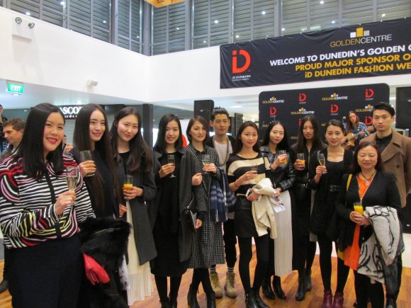 Designers and models from Shanghai